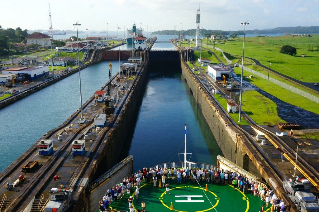Our Experience Transiting the Panama Canal Roaming