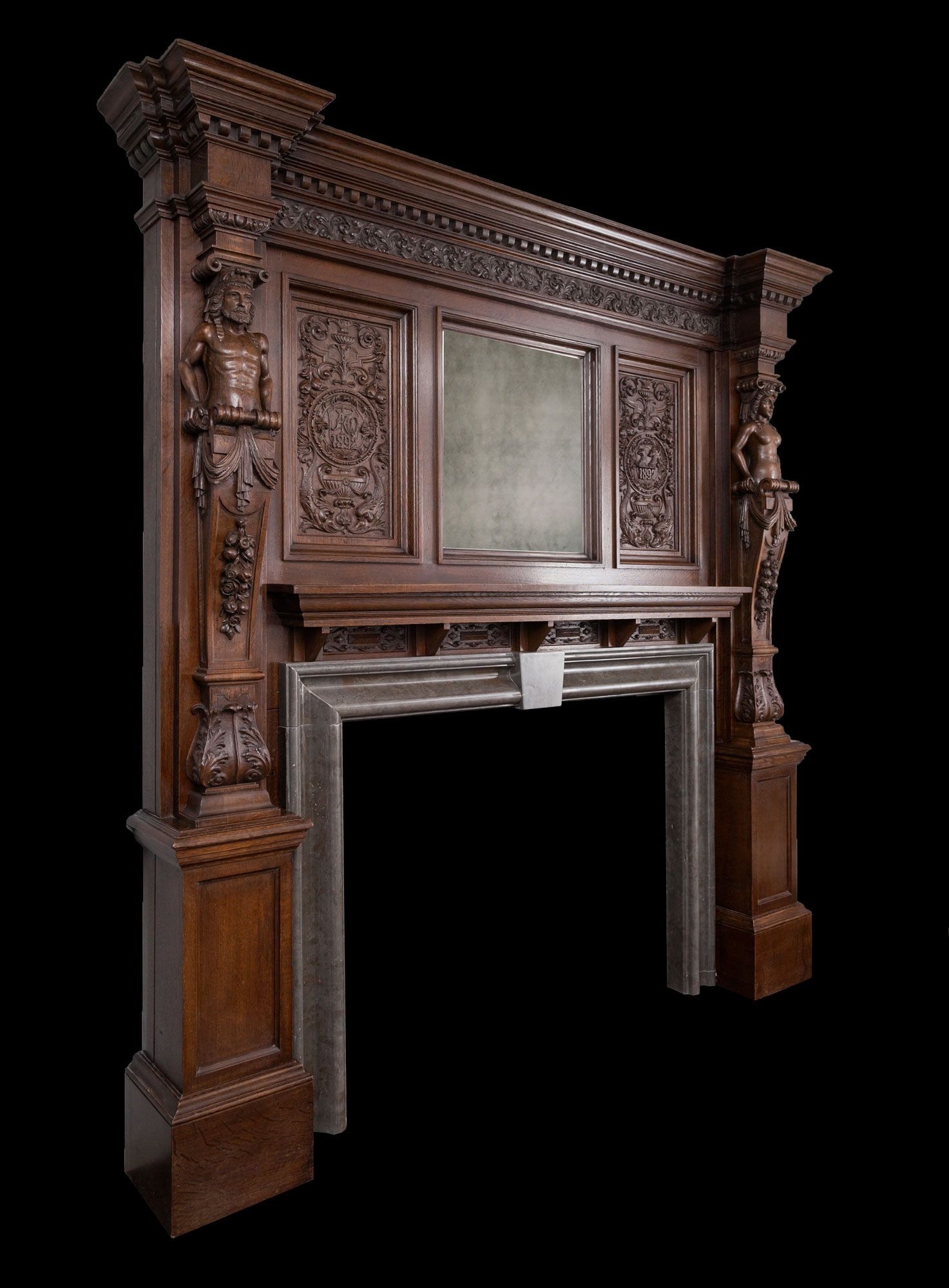 Phenomenal Wooden Mantel W105 From Ryan Smith Ltd Specialists In Interior Design Ideas Gentotryabchikinfo