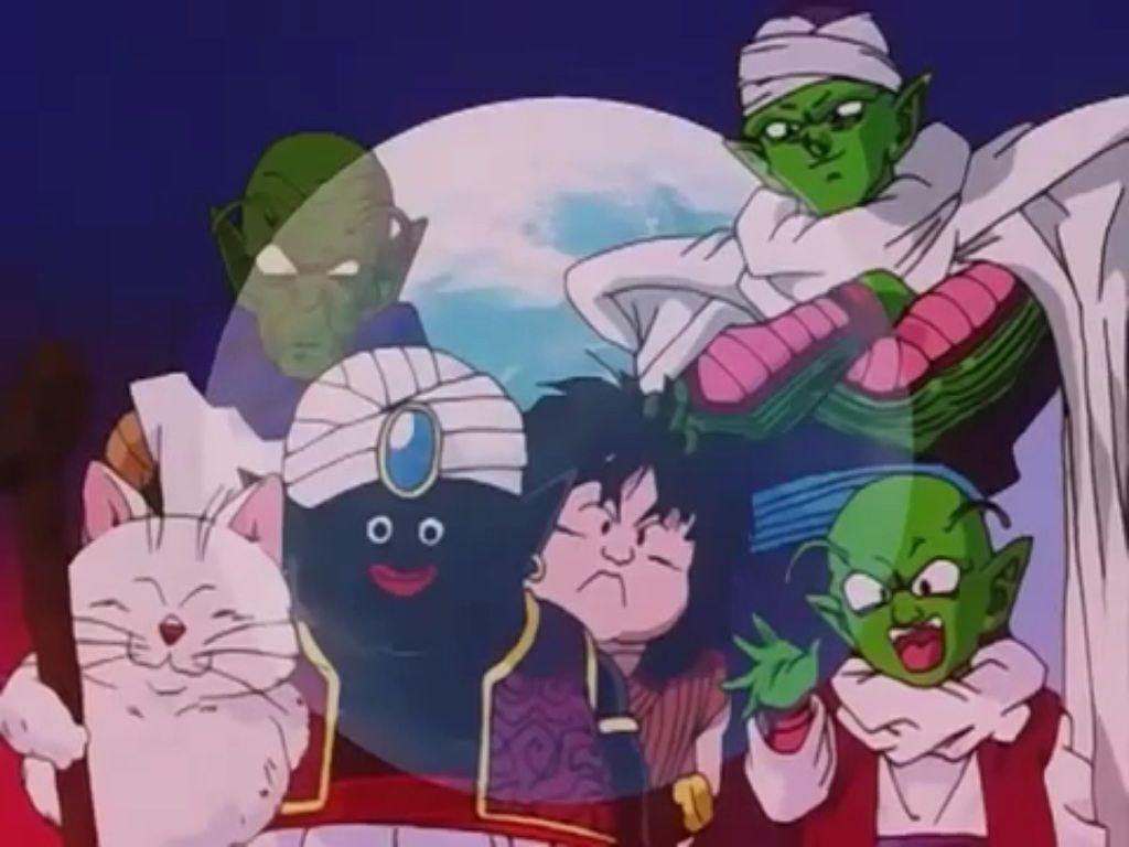 Korin Kami Mr Popo Yajirobe Piccolo And Dende Dragon Ball Dbz