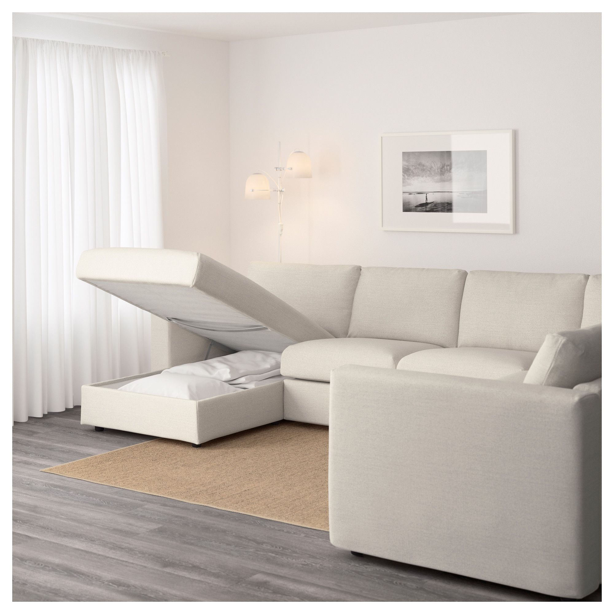 VIMLE Sectional, 5-seat Corner With Chaise