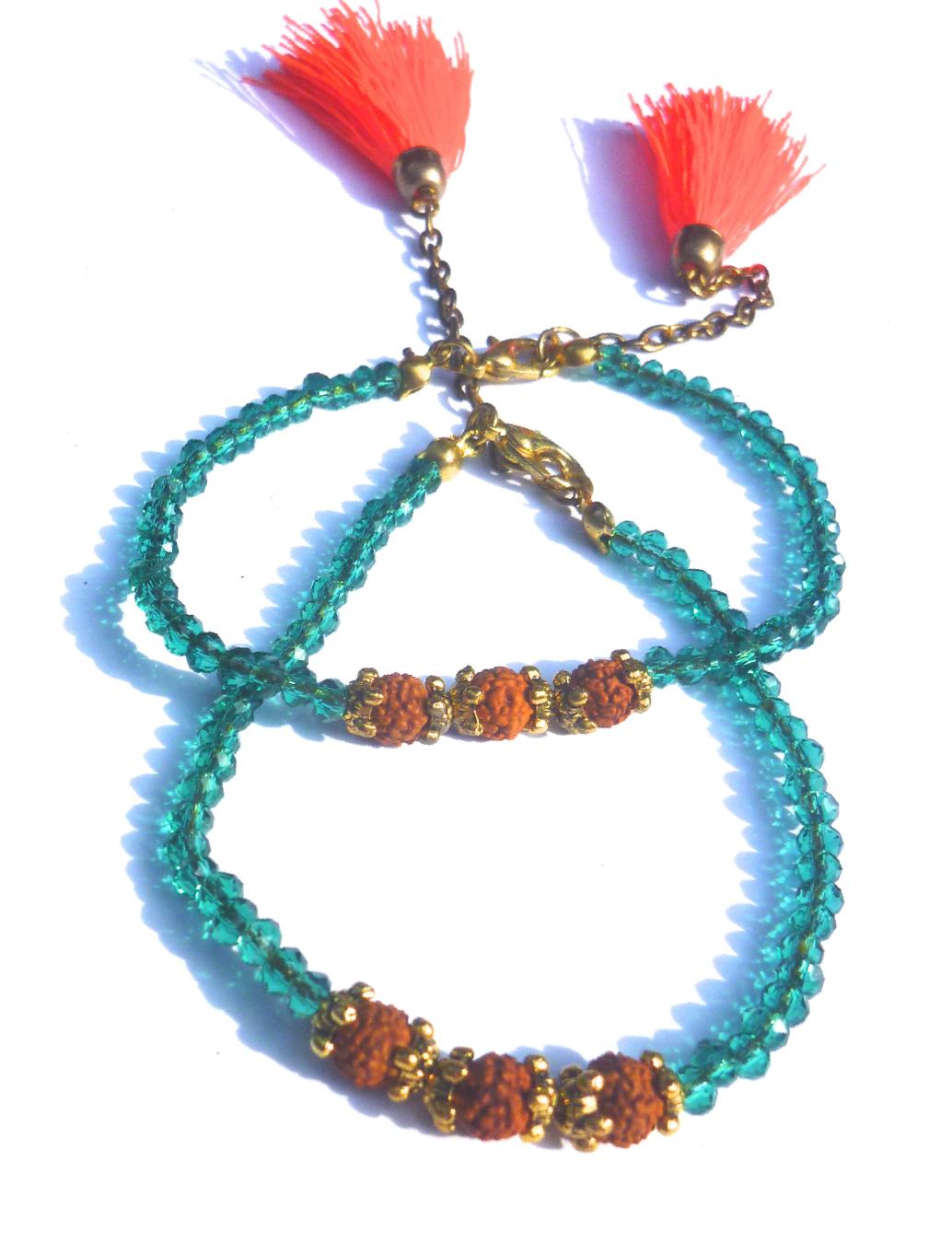 Balinese Mala Tassel Bracelets- Bright 'Mohawk' Style - $6 + range of styles*
