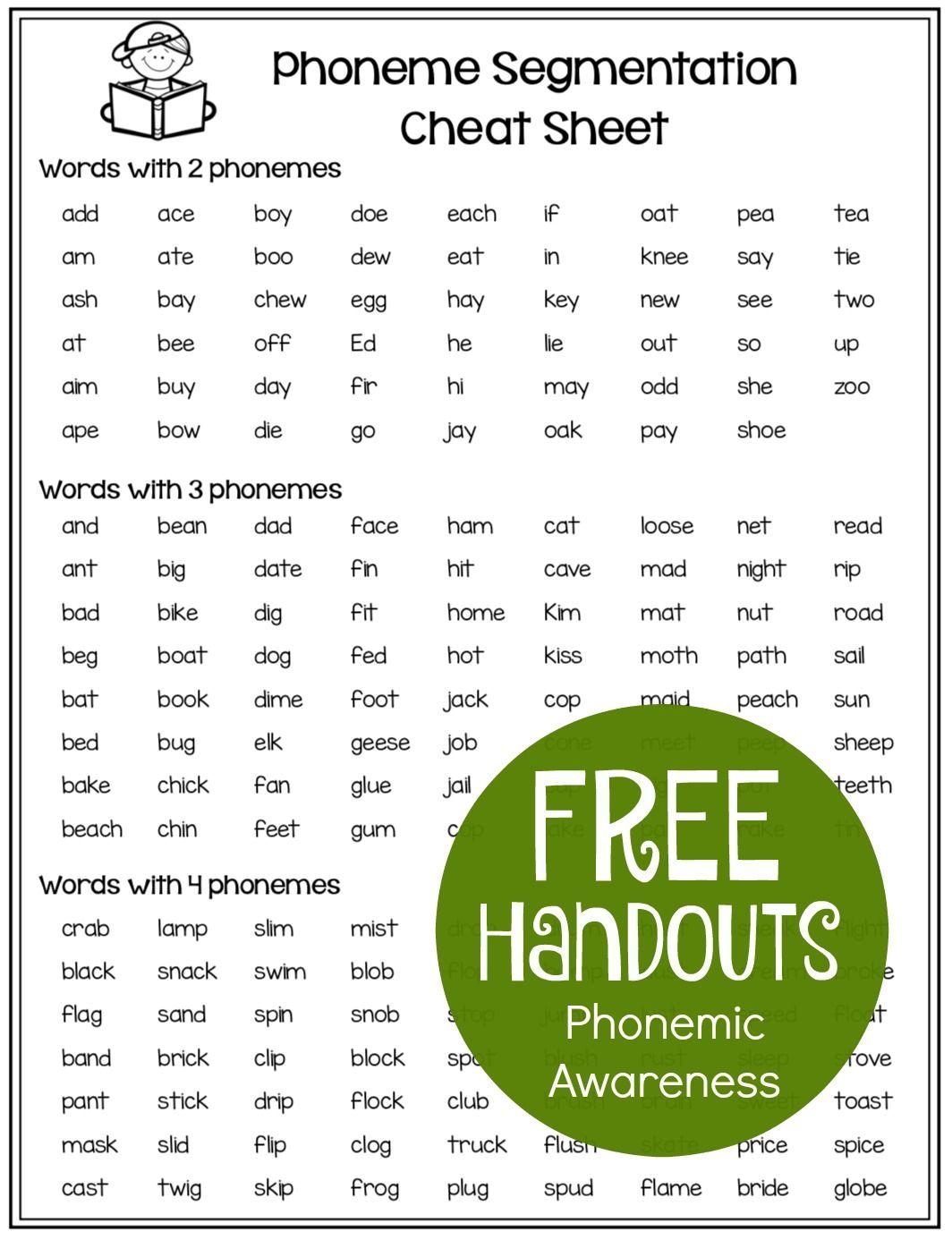 Phonemic Awareness Free Resources Make Take Teach Phonemic Awareness Preschool Phonemic Awareness Phonemic Awareness Activities [ 1386 x 1064 Pixel ]