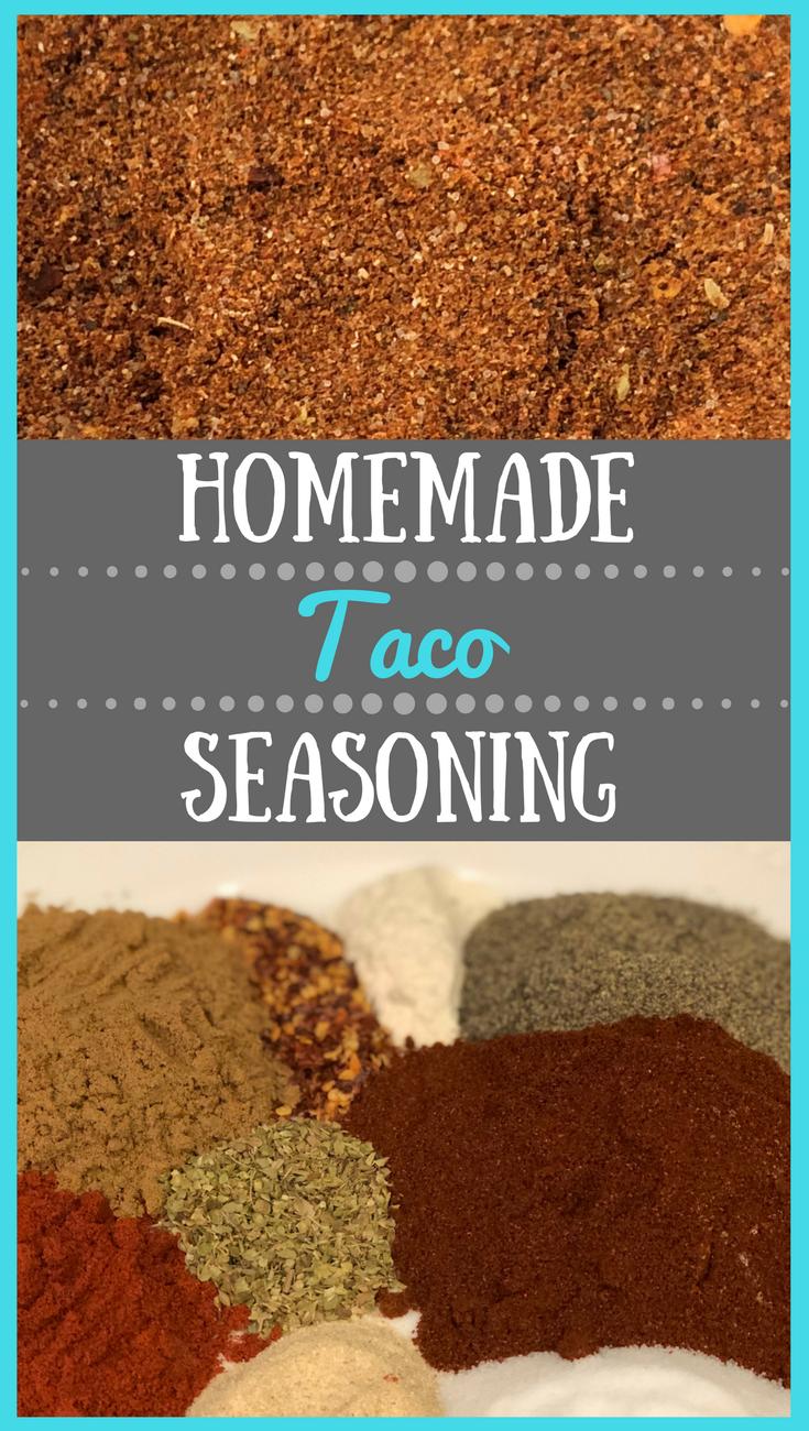 Homemade Taco Seasoning #maketacoseasoning