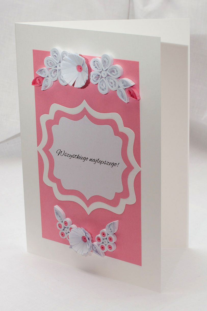 Kartki Urodzinowe Kartki Imieninowe Zaproszenia Ręcznie Robione