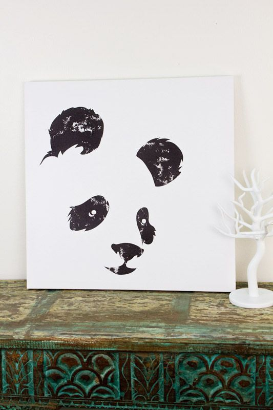 Easy panda painting images galleries for Cute simple paintings