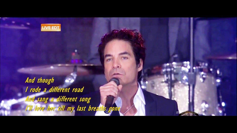 Train Angel In Blue Jeans [ live 2014 ]( lyrics