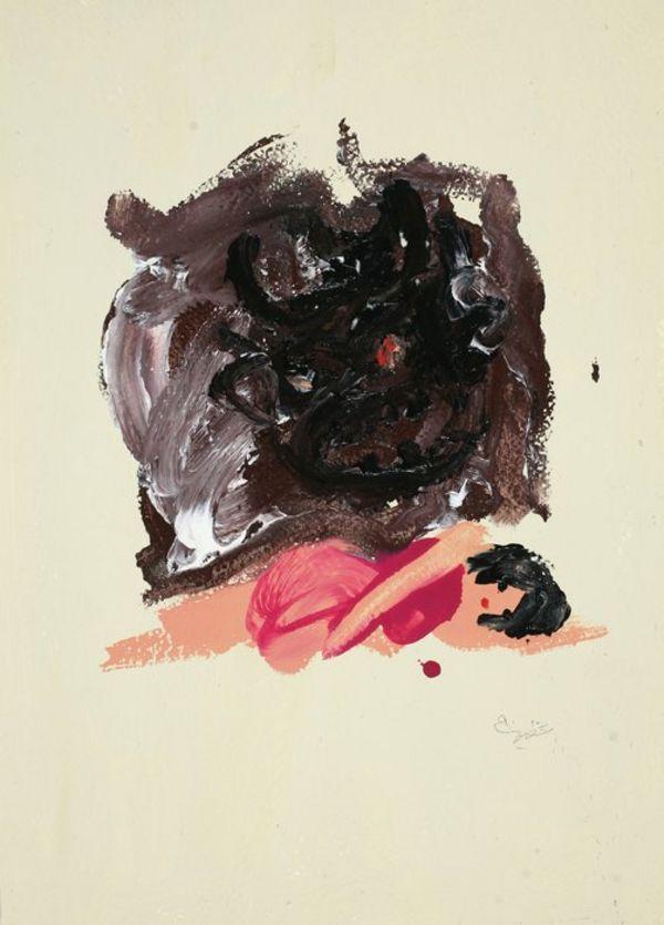 Javad Azimi,Untitled,2011,35 x 25 cm,mixed media on paper