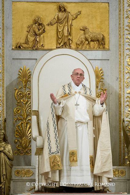 Pape François - Pope Francis - Papa Francesco - Papa Francisco - Celebrazione Vespri San Paolo Fuori le Mura 25-01-2014