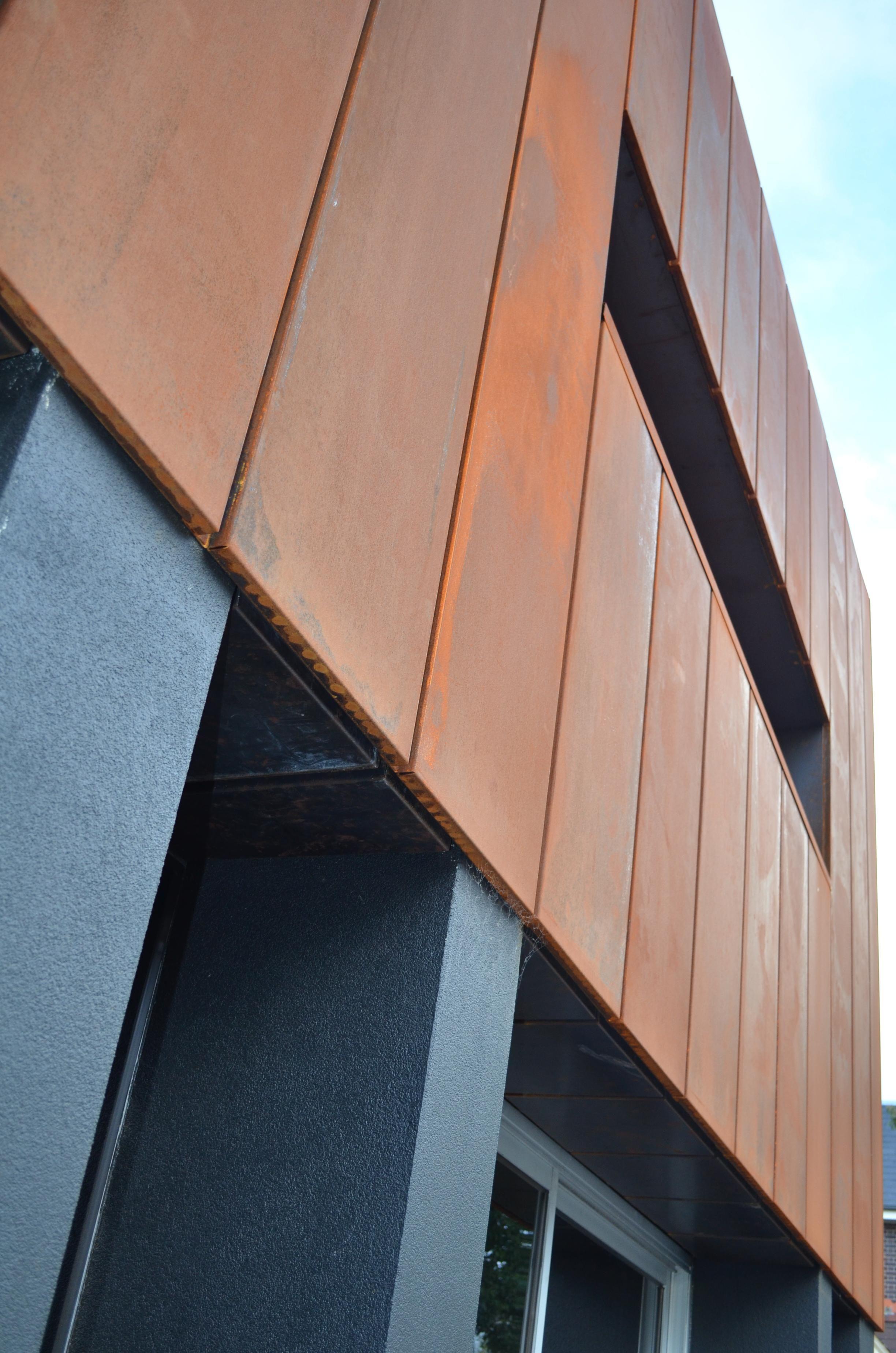 Cassette Panel Copper In 2020 Cladding Design Cladding Cladding Panels