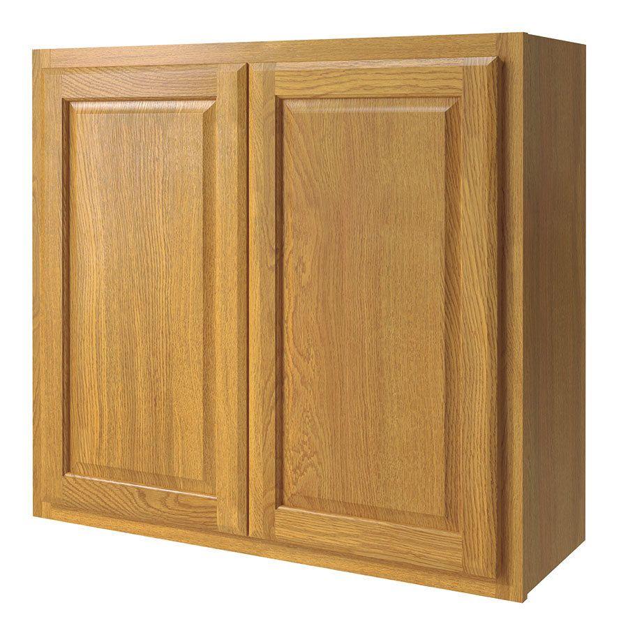 Kitchen Classics Portland 33 In W X 30 In H X 12 In D Wheat Door Wall Cabinet Kitchen Cabinets Countertops Door Wall Cabinet