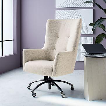 Victor Swivel Office Chair Westelm 31 7 W X 26 6 D X 45 3 48 4