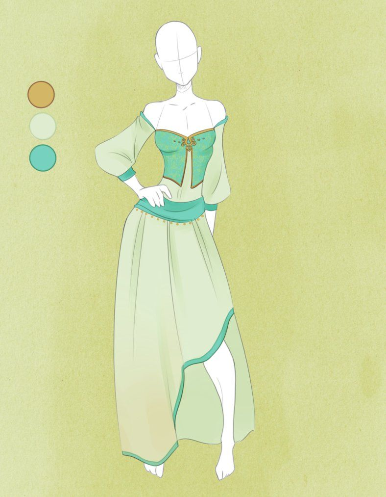 Character Costume Design Tips : Commission outfit june by violetky on deviantart