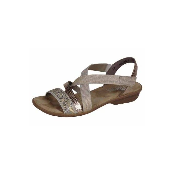Metalic Rieker sandals New for 2017 Rieker are lightweight, flexible and  stylish, across the