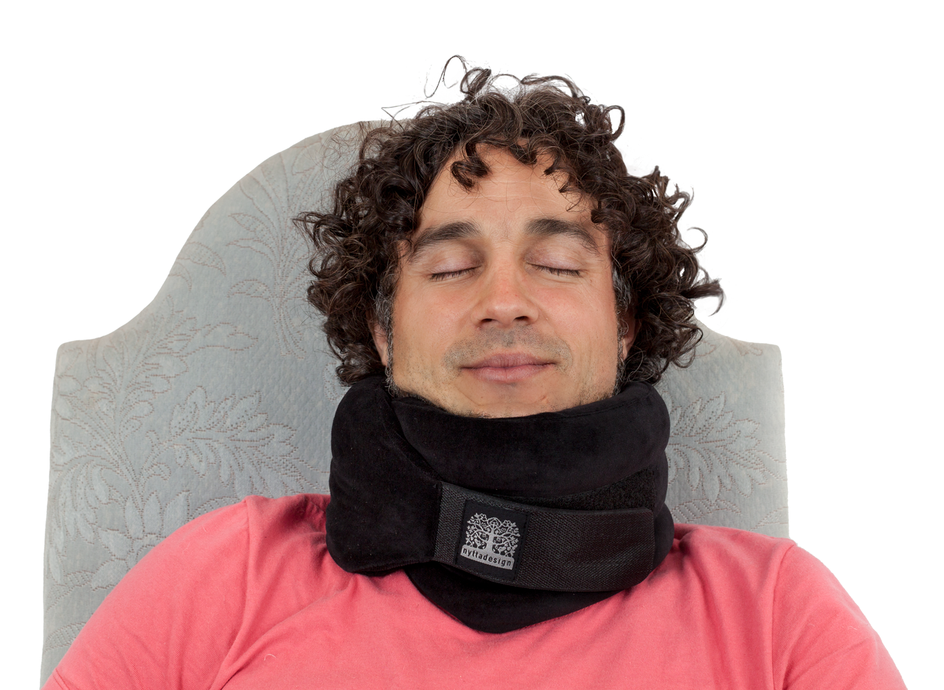 Supportive collar, cool, adjustable, highly supportive travel companion that will keep your head in right positsion. Supports also you chin.