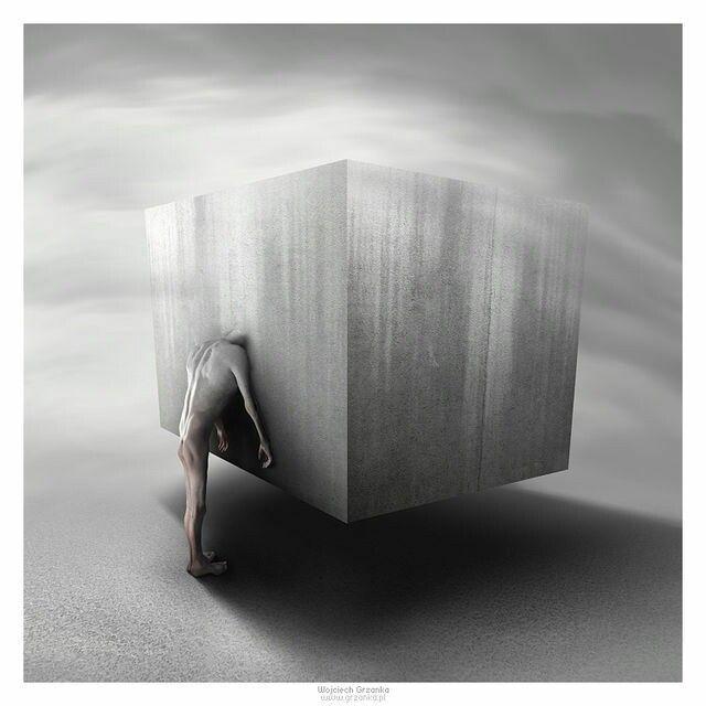 The Cube #surrealismo