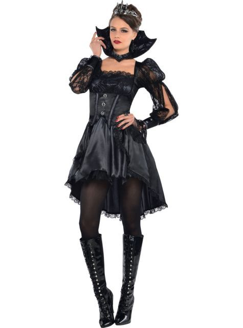 Adult Gothic Queen Costume - Party City