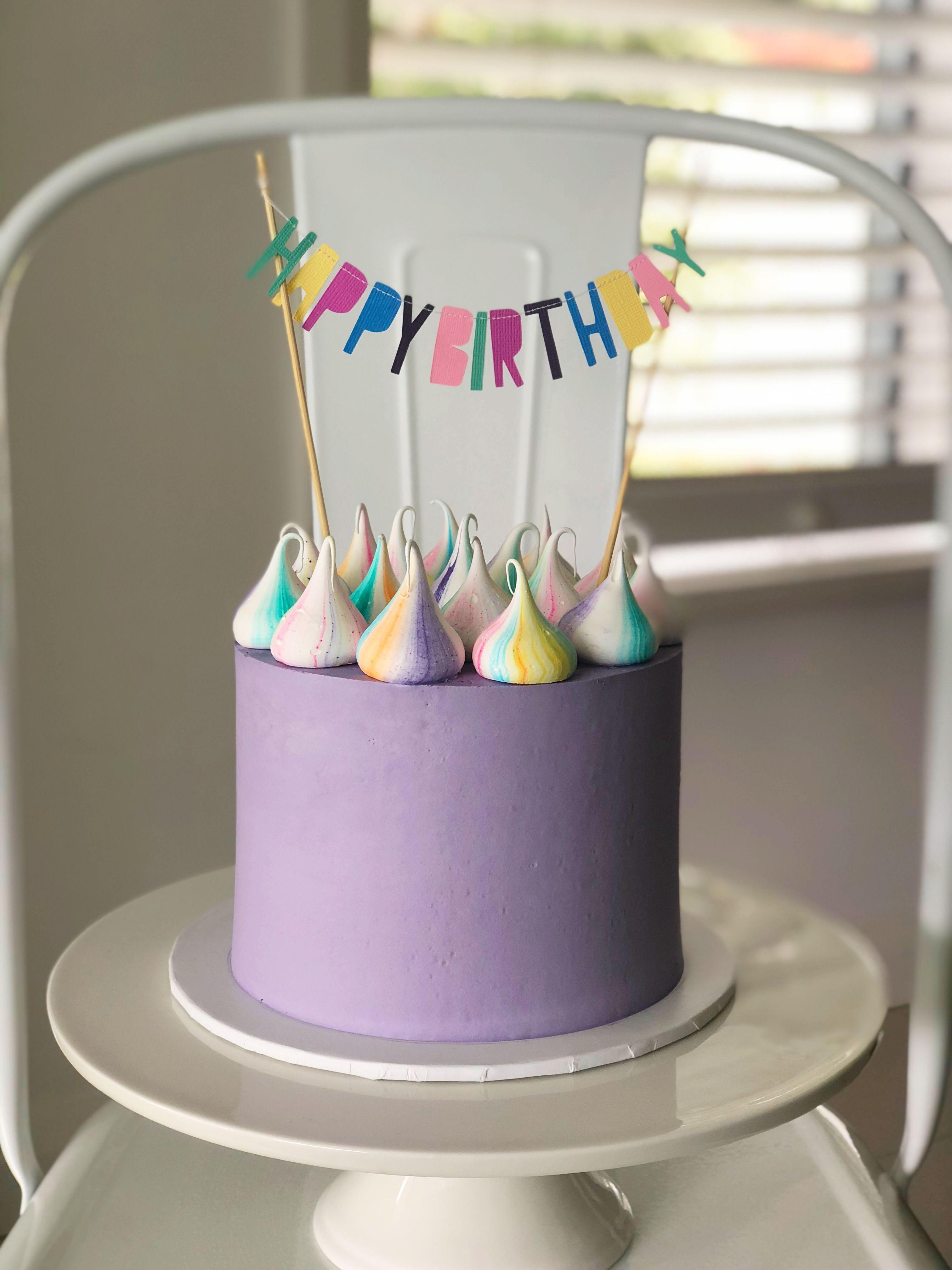 Girls 9th Birthday Cake White Chocolate Funfetti Cake With Oreo
