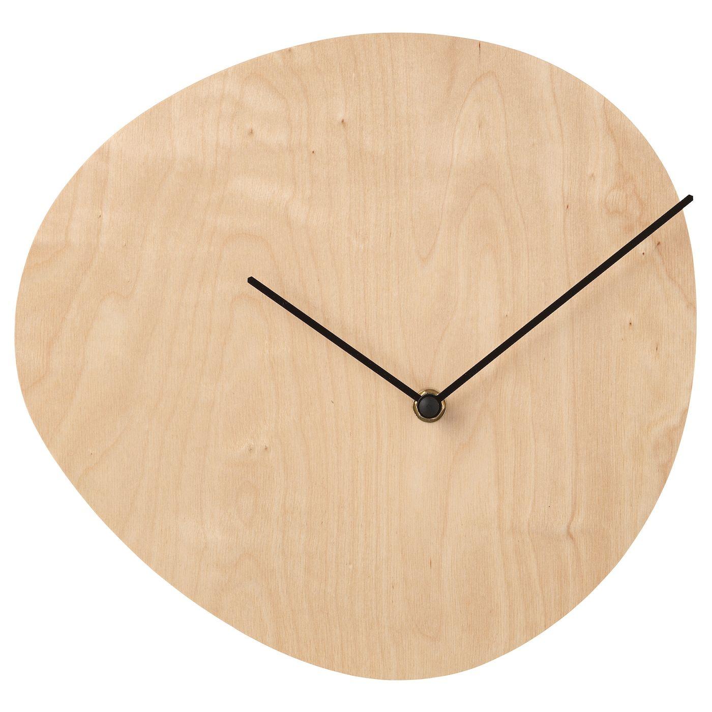 Snajdare Wall Clock Birch Plywood Ikea Wall Clock Ikea Wall Clock Design Wall Clock