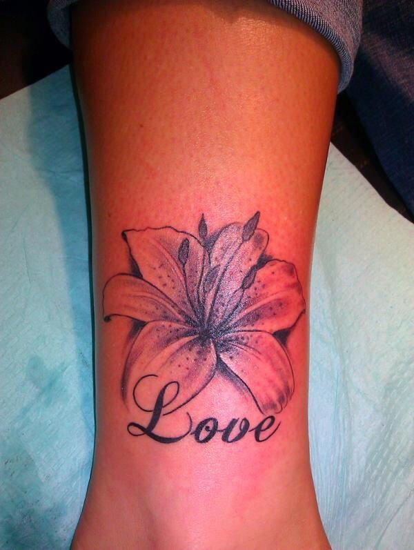 flower tattoo tattoos pinterest. Black Bedroom Furniture Sets. Home Design Ideas