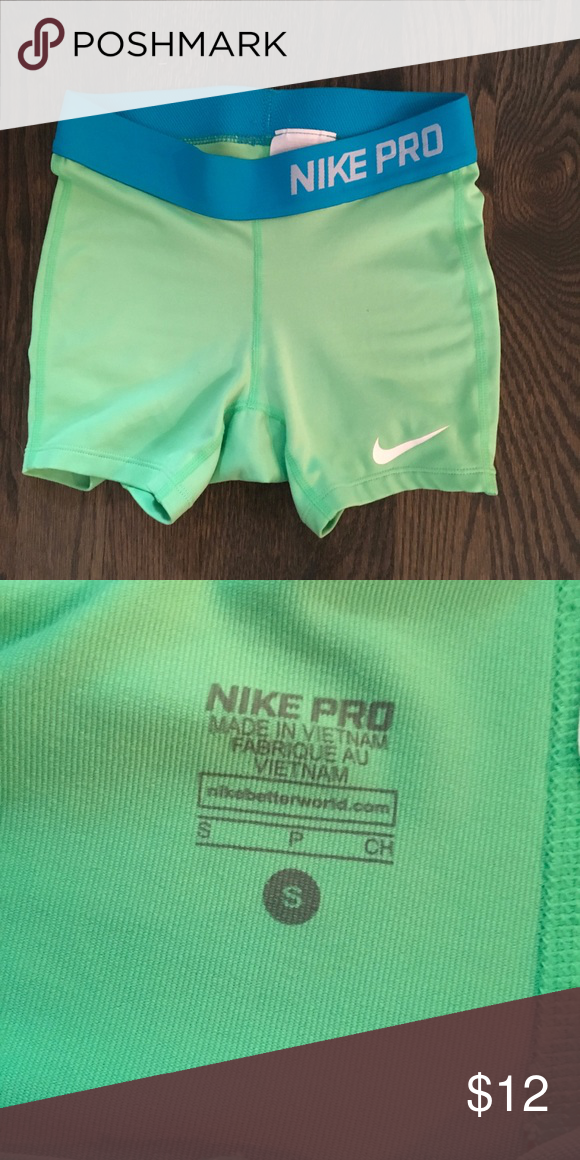Girls Nike Pro shorts This great pair of Nike Pro shorts have been worn one  time 22600df1a9d