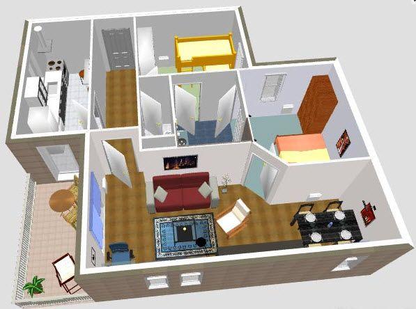 como hacer planos para casas fácilmente [programas gratis] | como