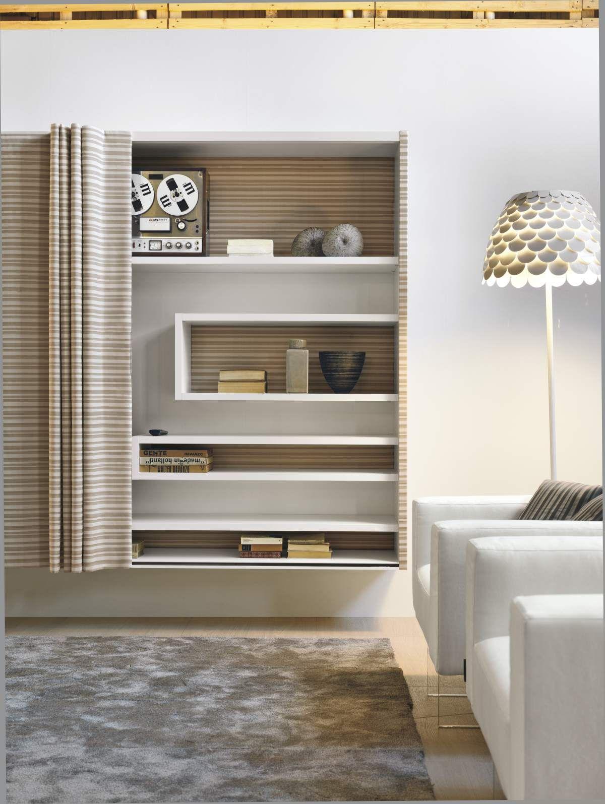 Open et voil by daniele lago lago living room for Mobili italiani design