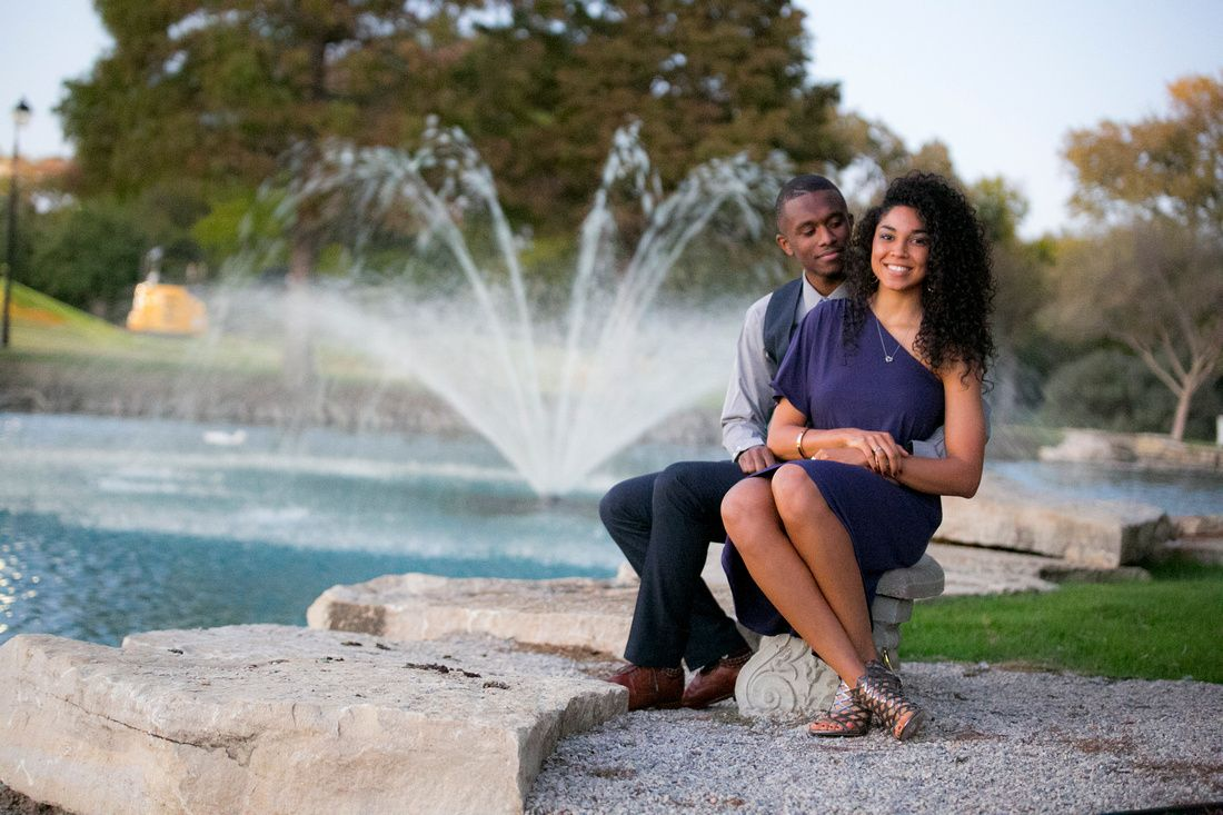 surprise marriage proposal at dallas baptist university photos and