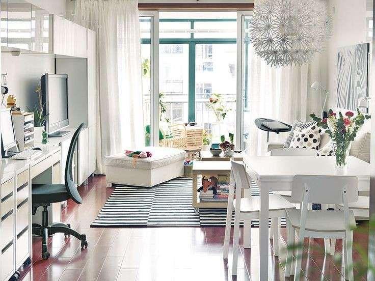 Idee per mini appartamenti tavolo allungabile ikea idee for Ikea progetto camera