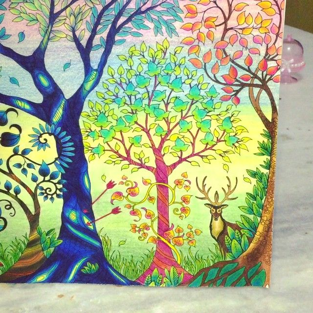 Floresta encantada  #florestaencantada #fabercastell