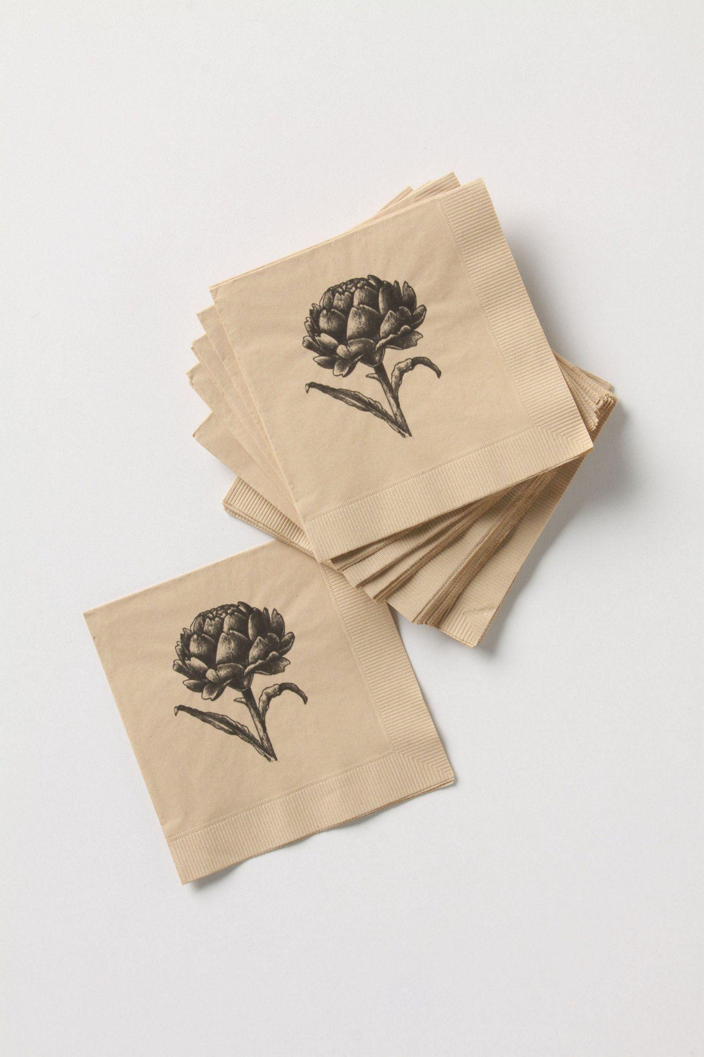 Aginares Paper Napkins - Anthropologie.com   Create ... - photo#27
