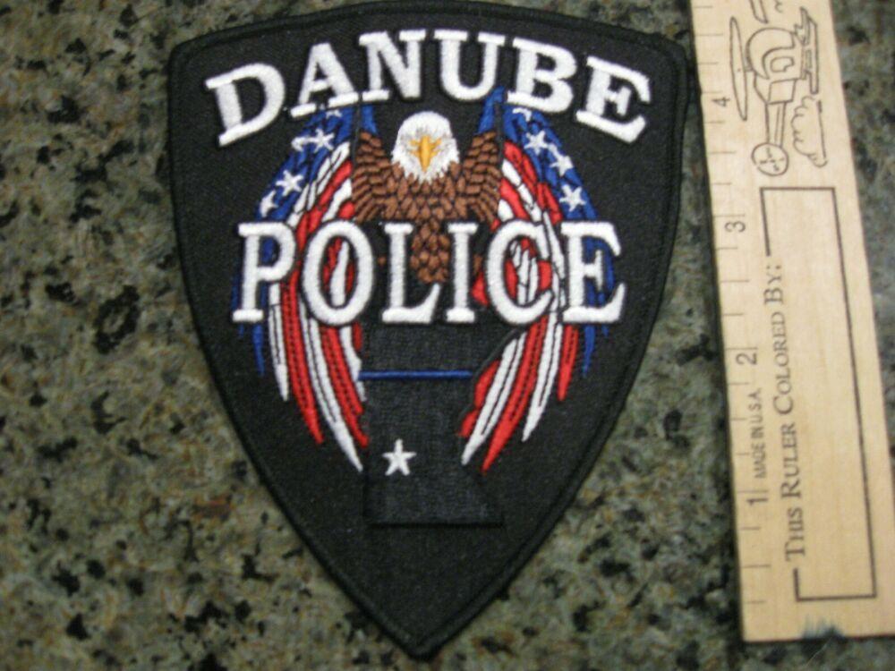 Danube Minnesota Police Patch Mn Police Patches Danube Police