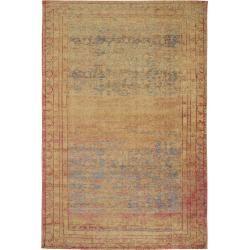 Photo of benuta Flachgewebeteppich Frencie Beige 80×165 cm – Vintage Teppich im Used-Look benuta
