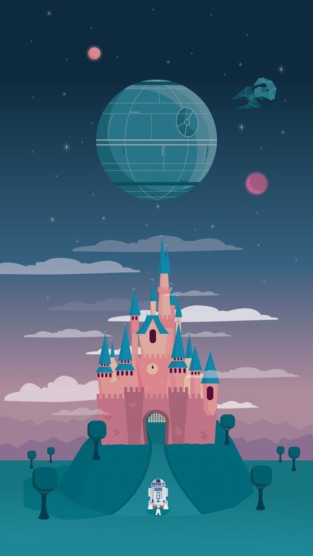Home Geekonomics Disney Star Wars Mash Ups Nerdist