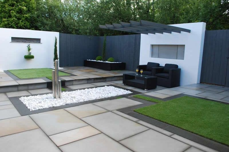 Landscapers Near Me | Garden spaces, Small courtyards ...