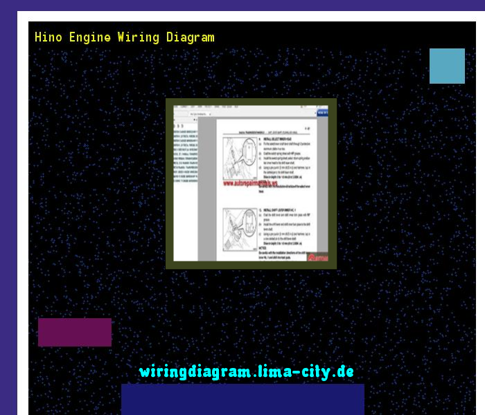 hino truck wiring diagrams 24vdc alternator diagram 2007 worksheet and images gallery