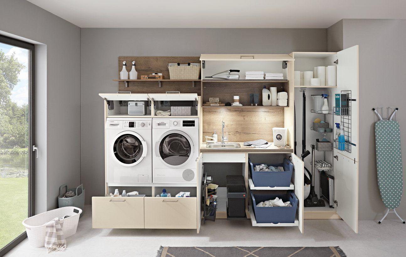 Einen Hauswirtschaftsraum Planen Und Praktisch Einrichten Kuche Co In 2020 Hauswirtschaftsraum Waschkuche Im Keller Hauswirtschaftsraum Ideen
