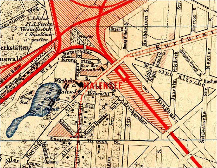 Luna Park Halensee 1909 1936 In Berlin Charlottenburg