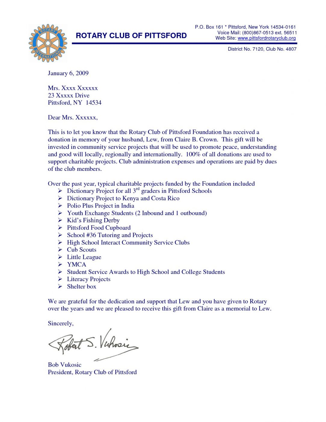 Get Our Image Of Memorial Donation Letter Template Donation Letter Template Sponsorship Letter Donation Letter