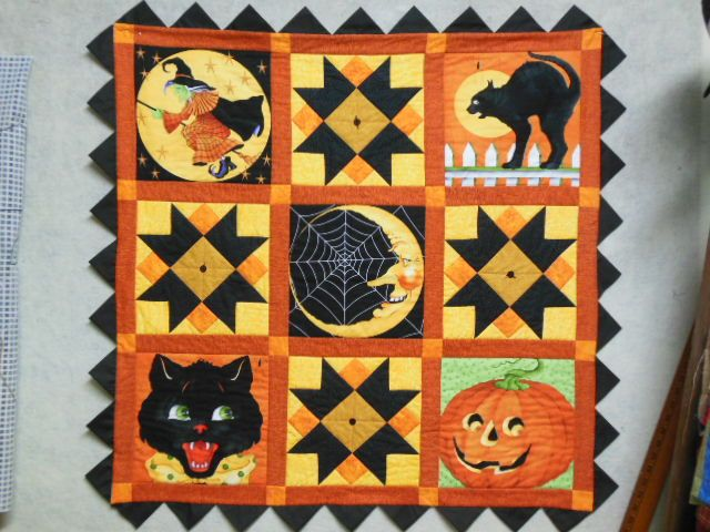Halloween Quilt by psclaus.