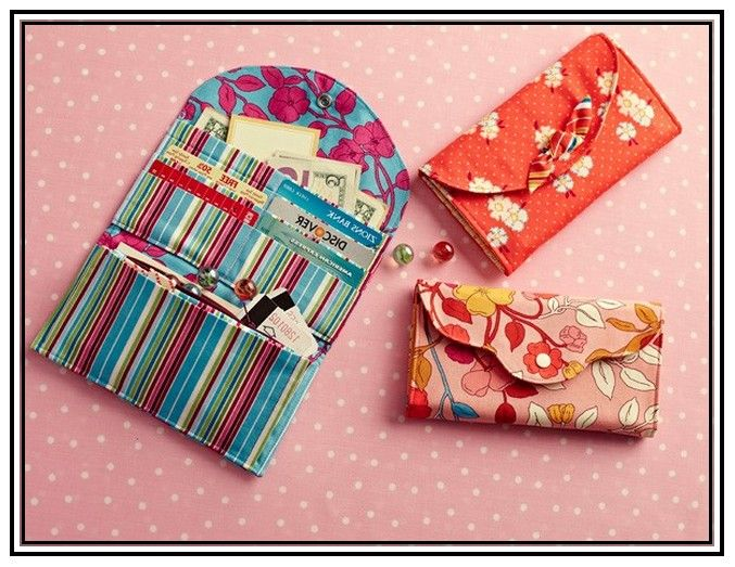 Wallet Pattern Sewing Choice Image - origami instructions easy for kids