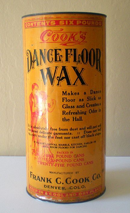 Vintage Dance Floor Wax Tin Tin Vintage Laundry
