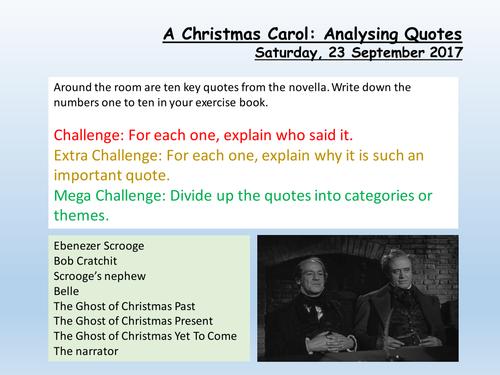 A Christmas Carol Quotes - TENTANG AC