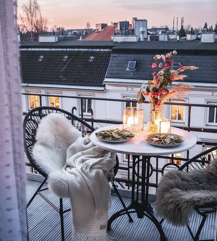 Photo of ▷ 1001 + Tipps und tolle Ideen für Ihr Balkon Cocooning Dekor #apartmentbalco …