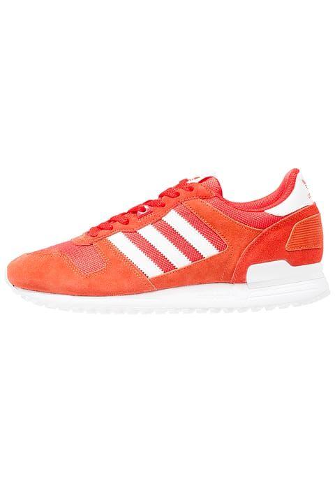 Zx 700 scarpe laag nucleo rosso / bianco / l'adidas e originali.