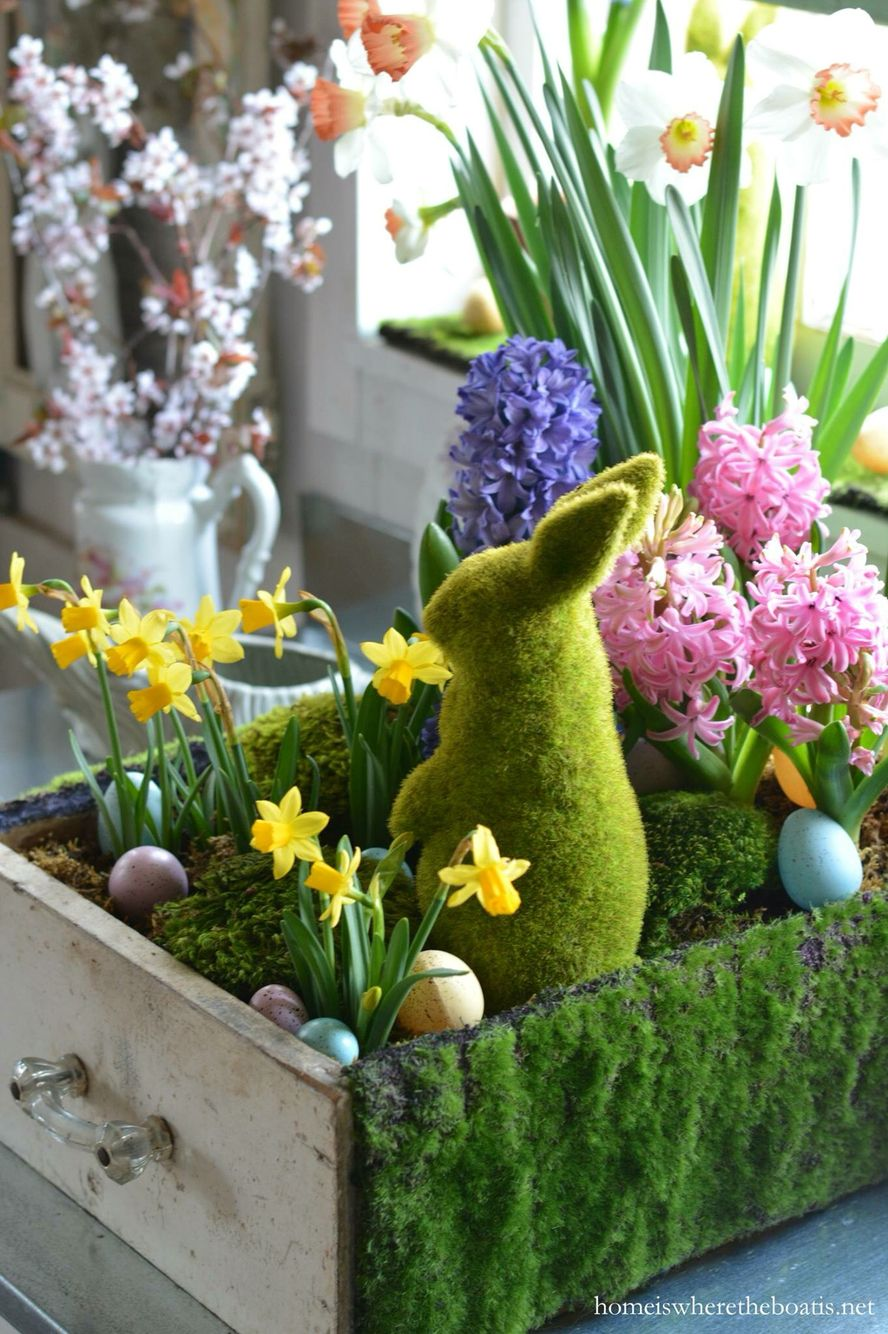 Pin by Tina Horn on ~ Bunny\'s Easter Garden Cottage ~   Pinterest ...