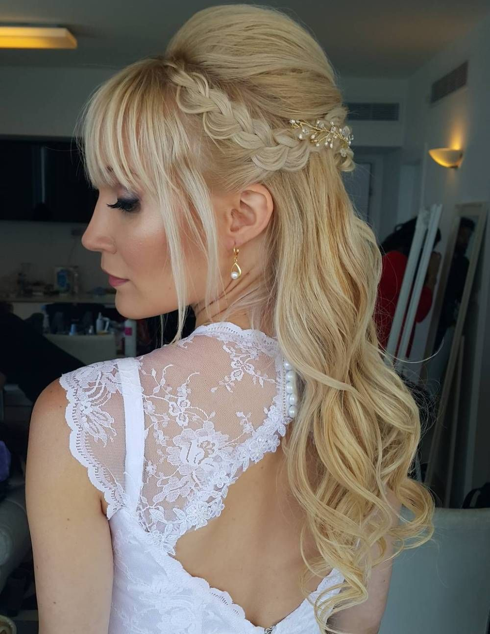 50 Best Of Wedding Hairstyles for Long Hair Half Up
