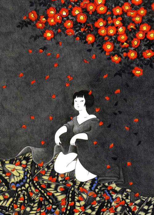 Akino Kondoh 近藤 聡乃 Skirt of the Night