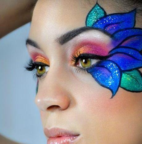 1000+ images about Maquillaje de fantasía en Pinterest