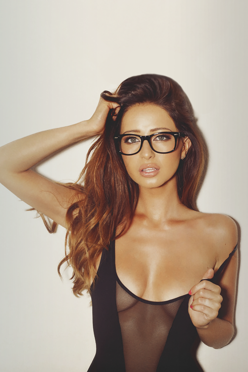 Not absolutely Hot babes nude with glasses with