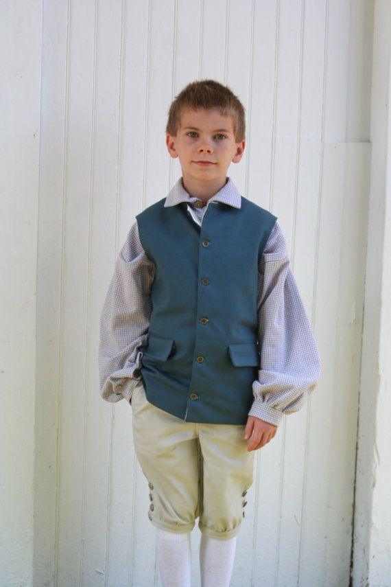 fea476dcaf gabe and kids. Clothes for Ian. Colonial Boy s Costume Revolutionary War by  WonderfulLifeFarm